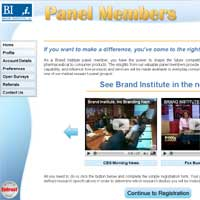 Brand Institute Surveys Website
