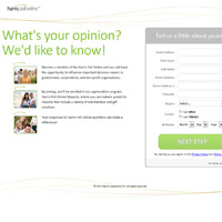 Harris Poll Online Surveys Website