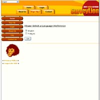 SurveyLion Surveys Website