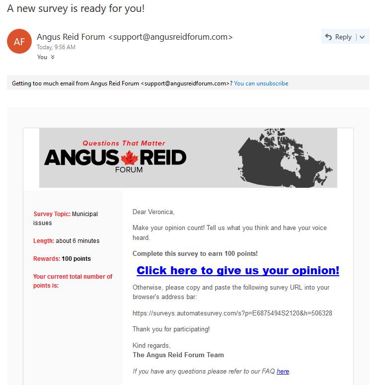 angus reid surveys