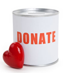 donate to charities