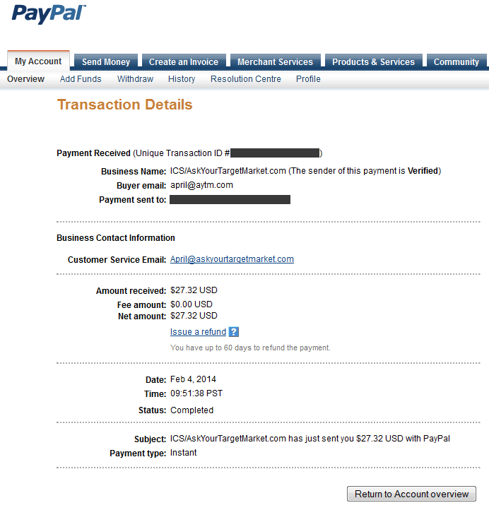 paidviewpoint paypal
