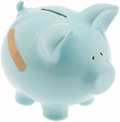 Unhappy Piggybank