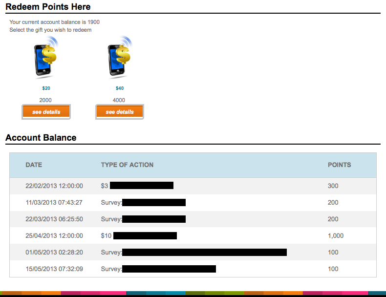 your insights account screenshot