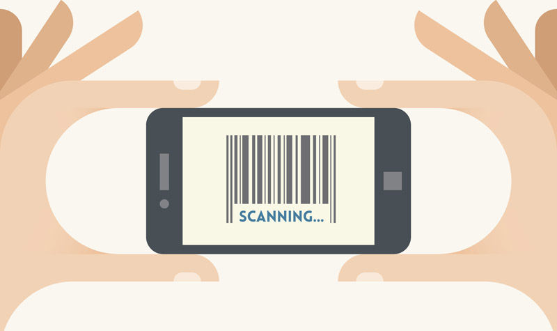 Homescan barcode scanning